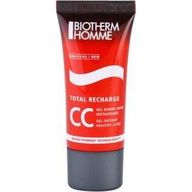 Biotherm Homme Total Recharge CC gel pro zdravý vzhled (Invisi-Pigment Technology) 30 ml