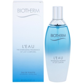 Biotherm L'eau Eau de Toilette for Women 100 ml
