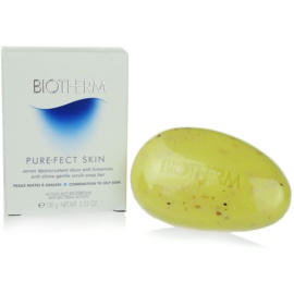 Biotherm PureFect Skin Cleansing Soap For Problematic Skin, Acne  100 g