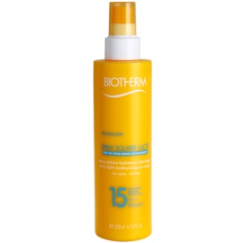 Biotherm Spray Solaire Lacté Hydraterende Bruinings Spray  SPF 15  200 ml