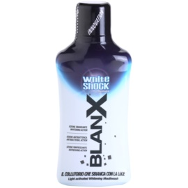 BlanX White Shock ústní voda s bělicím účinkem  500 ml
