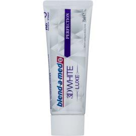 Blend-a-med 3D White Luxe Perfection bleichende Zahnpasta gegen Zahnschmelzflecken  75 ml