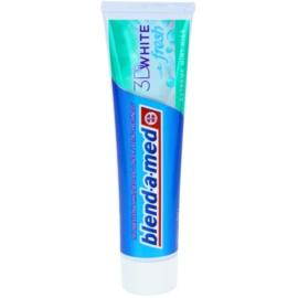 Blend-a-med 3D White Fresh Extreme Mint Kiss zobna pasta za beljenje zob za svež dah okus Mint Kiss 100 ml