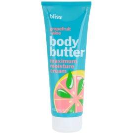 Bliss Bath & Body Grapefruit + Aloe pflegende Körpercreme mit Kokosöl Grapefruit + Aloe  200 ml