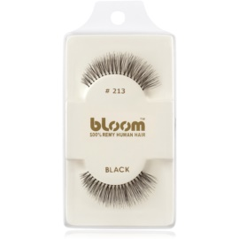 Bloom Natural faux-cils de vrais cheveux No. 213 (Black) 1 cm