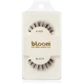Bloom Natural faux-cils de vrais cheveux No. 415 (Black) 1 cm