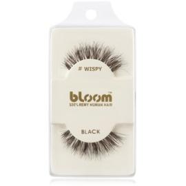 Bloom Natural Nepwimpers van Natuurhaar  (Wispy, Black) 1 cm