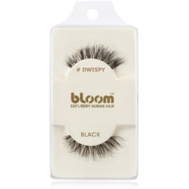 Bloom Natural faux-cils de vrais cheveux (Dwispy, Black) 1 cm