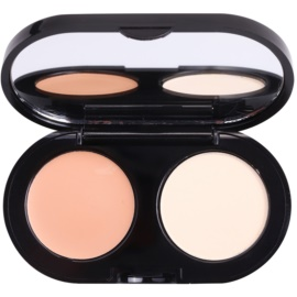 Bobbi Brown Creamy Concealer Kit krémes duo korrektor árnyalat Warm Beige/Pale Yellow  1,4 g
