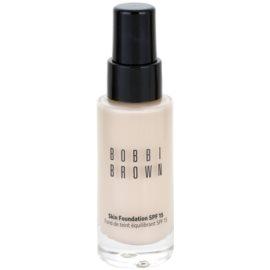 Bobbi Brown Skin Foundation hydratační make-up SPF 15 odstín 0 Porcelain 30 ml