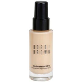 Bobbi Brown Skin Foundation  make up hidratant SPF 15 culoare 01 Warm Ivory 30 ml