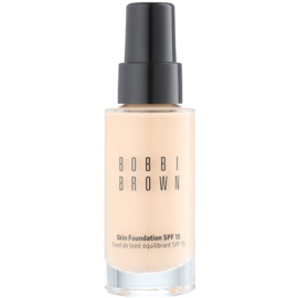 Bobbi Brown Skin Foundation make up hidratant SPF 15 culoare 02 Sand 30 ml