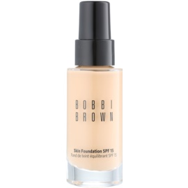Bobbi Brown Skin Foundation make up hidratant SPF 15 culoare 3 Beige 30 ml