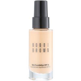 Bobbi Brown Skin Foundation vlažilni tekoči puder SPF 15 odtenek 3 Beige 30 ml