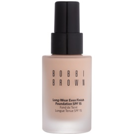 Bobbi Brown Skin Foundation Long-Wear Even Finish hosszan tartó make-up SPF 15 árnyalat 0 Porcelain 30 ml