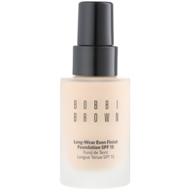 Bobbi Brown Skin Foundation Long-Wear Even Finish langanhaltendes Make-up LSF 15 Farbton 01 Warm Ivory 30 ml