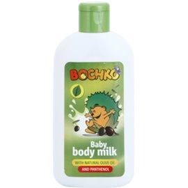 Bochko Care tělové mléko s přírodním olivovým olejem a panthenolem pro děti  200 ml