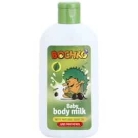 Bochko Care telové mlieko s prírodným olivovým olejom a panthenolom pre deti  200 ml
