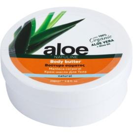 Bodyfarm Natuline Aloe telové maslo s aloe vera  200 ml