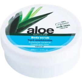 Bodyfarm Natuline Aloe tělový peeling s aloe vera  200 ml