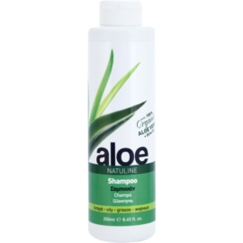 Bodyfarm Natuline Aloe šampon pro mastné vlasy s aloe vera  250 ml