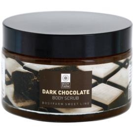 Bodyfarm Dark Chocolate telový peeling  200 ml