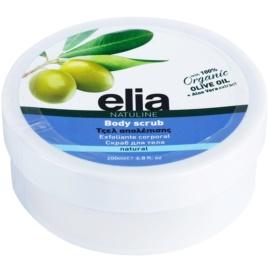 Bodyfarm Natuline Elia tělový peeling s olivovým olejem  200 ml