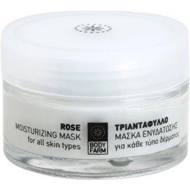 Bodyfarm Rose зволожуюча маска  50 мл