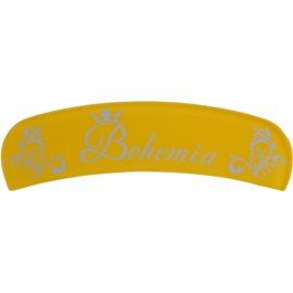 Bohemia Crystal Bohemia Glossy szklany pilnik półokrągły odcień Yellow