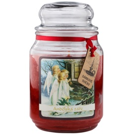 Bohemia Gifts & Cosmetics Anjelská Žiara vonná sviečka 510 g