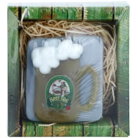 Bohemia Gifts & Cosmetics Beer Spa ručne vyrobené mydlo s glycerínom  85 g