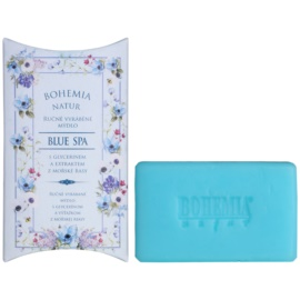 Bohemia Gifts & Cosmetics Blue Spa cremige Seife mit Glycerin  100 g