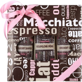 Bohemia Gifts & Cosmetics Coffee Kosmetik-Set  II.
