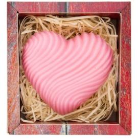 Bohemia Gifts & Cosmetics Heart ručně vyráběné mýdlo s glycerinem  120 g