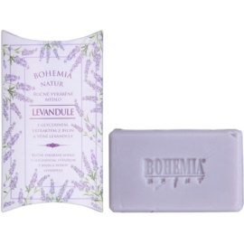Bohemia Gifts & Cosmetics Lavender krémes szappan glicerinnel  100 g