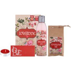 Bohemia Gifts & Cosmetics Lovebook kosmetická sada I.