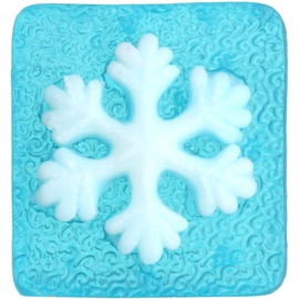 Bohemia Gifts & Cosmetics Snowflake handgemachte Seife mit Glycerin  70 g