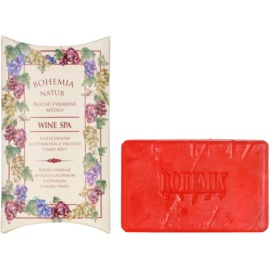 Bohemia Gifts & Cosmetics Wine Spa krémové mydlo s glycerínom  100 g