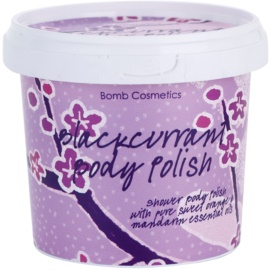 Bomb Cosmetics Blackcurrant sprchový peeling  375 g