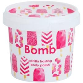 Bomb Cosmetics Vanilla Frosting tělový peeling  375 g