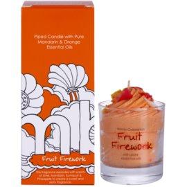 Bomb Cosmetics Piped Candle Fruit Firework vonná svíčka