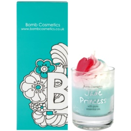 Bomb Cosmetics Piped Candle Jade Princess vonná sviečka