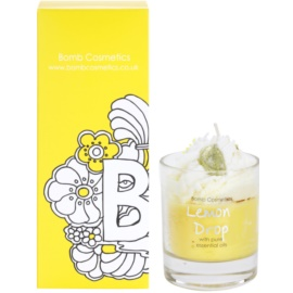 Bomb Cosmetics Piped Candle Lemon Drop vonná sviečka