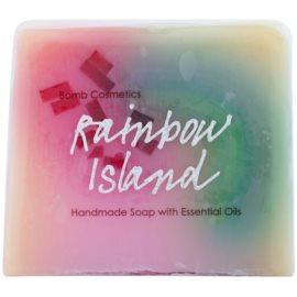 Bomb Cosmetics Rainbow Island jabón de glicerina con aceites esenciales  100 g