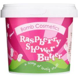 Bomb Cosmetics Raspberry Blower sprchové máslo pro suchou pokožku  320 g