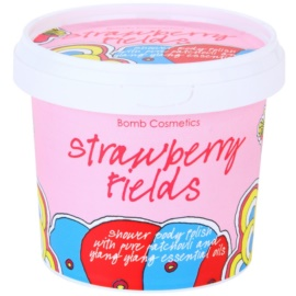 Bomb Cosmetics Strawberry Fields Duschpeeling  375 ml