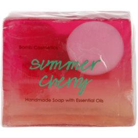 Bomb Cosmetics Summer Cherry glycerinové mýdlo letní višne  100 g