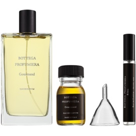 Bottega Profumiera Gourmand Gift Set I. Eau De Parfum 100 ml + Eau de Parfum Refill 30 ml + Flask 10 ml + Funnel