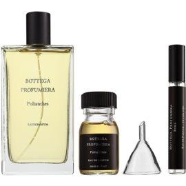 Bottega Profumiera Polianthes Geschenkset I. Eau de Parfum 100 ml + Eau de Parfum Füllung 30 ml + nachfüllbare Flasche 10 ml + trichter