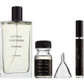 Bottega Profumiera Rose Poudre lote de regalo I. eau de parfum 100 ml + frasco recargable 10 ml + embudo